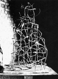 Eduardo Paolozzi, The Cage, 1951