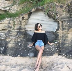 """Post with 373 views. """"Long weekend at Stanwell Beach"""" Instagram Pose, Instagram Girls, Lily Maymac, Fashion Models, Fashion Outfits, Best Photo Poses, Girly Pictures, Vacation Outfits, Girls Dpz"""