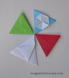 You can make these cute Origami Triangle Tato's from a square or rectangular paper, because the first step is to convert the paper into an equilateral triangle. An equilateral triangle has all three sides of the same length.Tip: Papers I usually buy on Ebay or Origami Shop. Japanese books I tend to buy from CDJapan. …