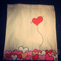 bolsas tela pintadas - Buscar con Google