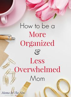 How to stay organized as a busy mom. Great organization tips for moms with large families. Keep your family life organized. Organization tips for work at home moms. Keep your family running smoothly with organizational tips from a mother of four. Organized Mom, Staying Organized, Overwhelmed Mom, Feeling Overwhelmed, Mentally Strong, After Baby, Time Management Tips, Stress Management, Mom Hacks