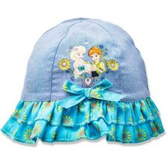 Frozen Baby Toddler Girl License Hat, Blue