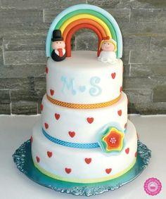 Bruidstaart weddingcake
