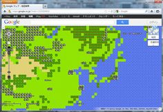 【53】Google Maps ドラクエ風