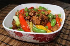 Hoisin Tofu Stir Fry