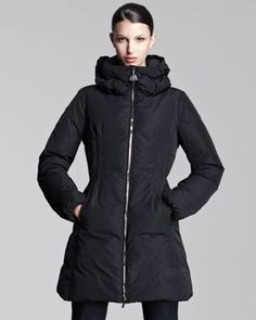 Mid-Length Puffer Coat by Moncler at Neiman Marcus.  ...if only it was 1/10th it's price