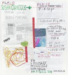 いいね!16件、コメント2件 ― TG(@tg_gal)のInstagramアカウント: 「--> @susancianciolo film screening Friday 11th March 7-8.30pm, drinks + music in gallery afterwards…」