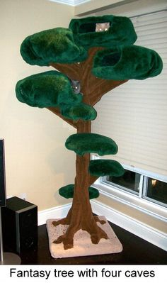 FANTASY tree - Cloud Nine Cat Trees So much better than those other stands! I Love Cats, Crazy Cats, Cool Cats, Cat Tree Designs, Nine Cat, Sneaky Cat, Diy Cat Tree, Cat Towers, Cat Room