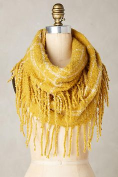 Fringed Infinity Scarf - anthropologie.com