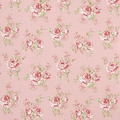 Rose Flora Curtain Fabric (terrysfabrics)