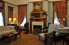 Old House remodeling in Lincoln, Nebraska. Victorian Architecture Styles: Victorian Family Parlor.