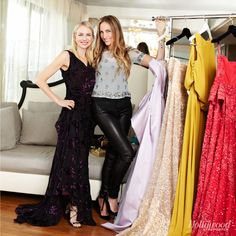 Jeanann Williams - Google Search Naomi \Naomi Watts and Jeanann Williams on a shoot for The Hollywood Reporter's '25 Most Powerful Hollywood Stylists'   Jeanann looks great in the leather jeggings  FASHION JARGON: LEATHER JEGGINGS (JEANANN) AND BURNOUT VELVET (NAOMI)