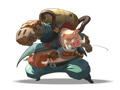 character design for personal project, Roger Tacas Jimenez Character Design Animation, Fantasy Character Design, Character Design References, Character Design Inspiration, Character Concept, Concept Art, Pig Character, Pig Illustration, Dnd Art