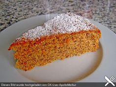Möhren-Nuss-Kuchen (Rezept mit Bild) von ApolloMerkur | Chefkoch.de