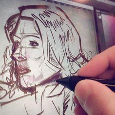 #wip #colorstudy #Portrait #painting #Drawing #digitalPainting #Sketching #wacom #corelpainter #art #illustration #draw #artist #sketch #sketchbook #Pencil #pen #instaart #gallery #creative #instagram #MyDubai #UAE #Dubai #shareyourmoment #KadisArt