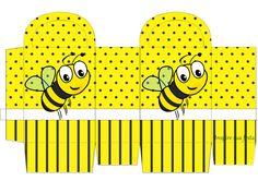 Inspire sua Festa ® | Blog Festa e Maternidade Maria Valentina, Easy Christmas Treats, Bee Party, Bee Theme, Scrap, Junk Journal, Diy And Crafts, Classroom, Baby Shower