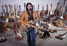 John Entwistle.  The Ox.  A bass player who was the engine of the Who.  He also set the bar for Guitar Acquisition Syndrome.