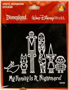 Jack Skellington Nightmare Before Christmas Family Car Decal by Disney, http://www.amazon.com/dp/B00344T082/ref=cm_sw_r_pi_dp_2qoGpb16PF5KY
