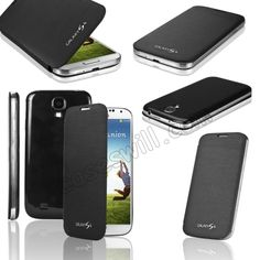NEW FLIP Case Cover for Samsung Galaxy S4 SIV i9500 - Black US$6.39
