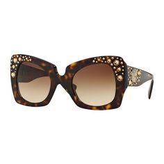 36b02921006 Versace Women s VE4308B 108 13 Tortoise Plastic Butterfly Sunglasses