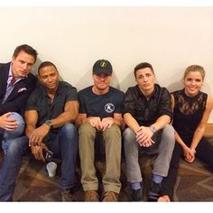 Stephen Amell & The Arrow Cast