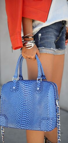 This bag is the most gorgeous color! Surely it was meant for me (but it's quite a bit more than I could ever spend). Darn - cuz I'd love it forever... boo hoo.