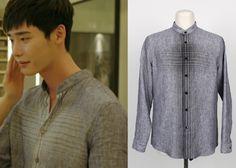 """Lee Jong Suk in """"Doctor Stranger"""" Episode 19.  System Homme Shirt #Kdrama #DoctorStranger #닥터이 #LeeJongSuk #이종석"""