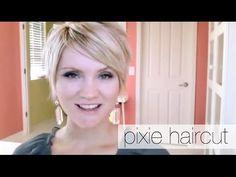 Die Entscheidung, ein Pixie Haircut bekommen