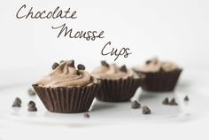 Chocolate Cups@ on Whisk Together