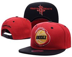 check out 76732 5c1de Premium Original Flexfit NBA Houston Rockets Fitted Red Hats -- To view  further for this item, visit the image link.