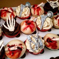 Image result for orthopedic cupcakes