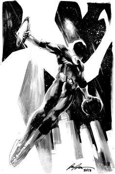 Moon Knight by Stephen Platt | Marvel Characters & Artists ...