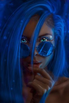 More at Mike Vands 😈 Black Love Art, Black Girl Art, Fantasy Art Women, Fantasy Girl, Evvi Art, Dibujos Tumblr A Color, Cyberpunk Girl, Black Artwork, Digital Art Girl