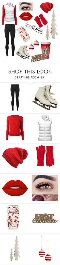 """Ice Skating ⛸"" by cdimi777 ❤ liked on Polyvore featuring beauty, The Row, Isabel Marant, The North Face, Halogen and Lime Crime"