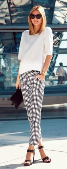 Tailored trousers can make an outfit