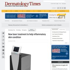 New laser treatment to help inflammatory skin condition | HSAWARENESS.ORG