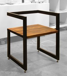 Unique Wooden Chair Design Ideas To Add To Your Home Furniture - Welded Furniture, Iron Furniture, Simple Furniture, Steel Furniture, Home Decor Furniture, Furniture Design, Furniture Stores, Office Furniture, Decoupage Furniture