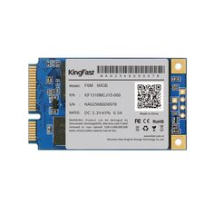 "High Quality F6M 60GB/128GB Kingfast mSATA3.0 SSD for Computer Internal Solid Hard Drive 1.3"" 3.5mm"
