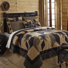 Dakota Star Bedding from Allyson's Place. http://allysonsplace.com/catalog.php?item=6188. See more country products in the May issue of Country Sampler: https://www.samplermagazines.com/detail.html?prod_id=159&source=pin