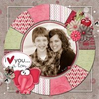 A Project by lbrtychic from our Scrapbooking Gallery originally submitted 04/21/12 at 07:38 PM