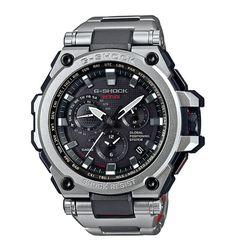 G-shock Casio Mt-g Stainless Steel Bracelet Watch In Silver Casio G-shock, Casio Watch, Casio G Shock Watches, Sport Watches, Cool Watches, Watches For Men, Citizen Watches, Dream Watches, Women's Watches