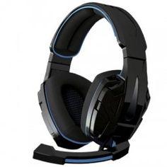 Casque avec Microphone Gaming B-Move BG Xonar Windows Xp, Pc Ps4, Ps3, Headset, Headphones, Games, Shopping, Ear Phones, Head Bands