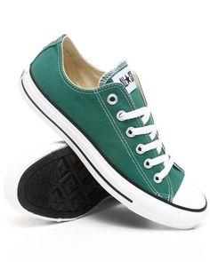 Converse Men Green Chuck Taylor Ox Sneakers