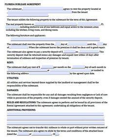 Rental Application Template   Rental Agreement