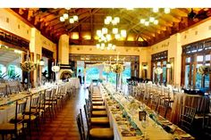 Wedding reception at Splendido Golf and Country Club. Design and Styling by Opulent Weddings. Rustic Bohemian Wedding, Rustic Garden Wedding, Wedding Reception Venues, Wedding Events, Our Wedding, Tagaytay Wedding, Event Design, Real Weddings, Club Design