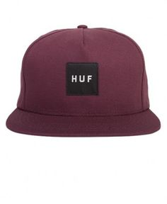 Huf - Box Logo Snapback Cap
