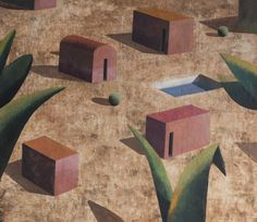 Ramon Enrich | Noea | Acrylic on Canvas | http://www.artistics.com/en/art/ramon_enrich/noea