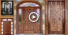 33 Ideas for wooden main door design decor