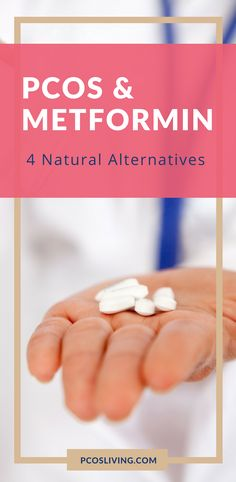 PCOS & Metformin: 4 Natural Alternatives You Should Know About // PCOS & Weight Loss // PCOS Natural Remedies // PCOS & Blood Sugar // PCOS Treatments | PCOSLiving.com