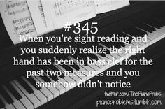 "Then you realize it and you're just like, ""Oh"" music stuff"